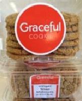 Ginger Snap Molasses, 8 clam shells / 12 cookies / 10 oz ea