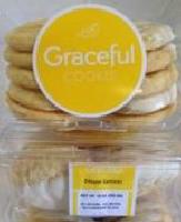 Meyer Lemon , 8 clam shells/ 10 cookies / 10 oz ea