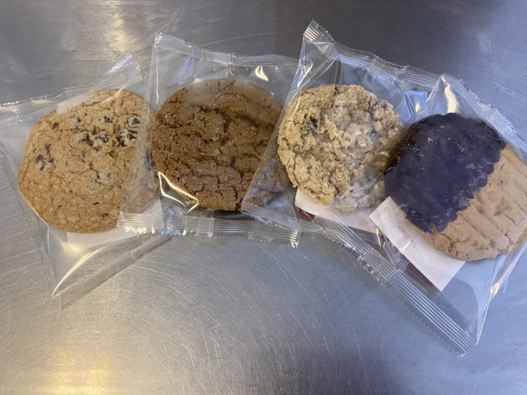 Safe & Sanitary Wrapped Artisan Cookies for Your Deli /Coffee Program, 3oz. UPC
